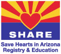Save Hearts in Arizona Registry and Education Logo
